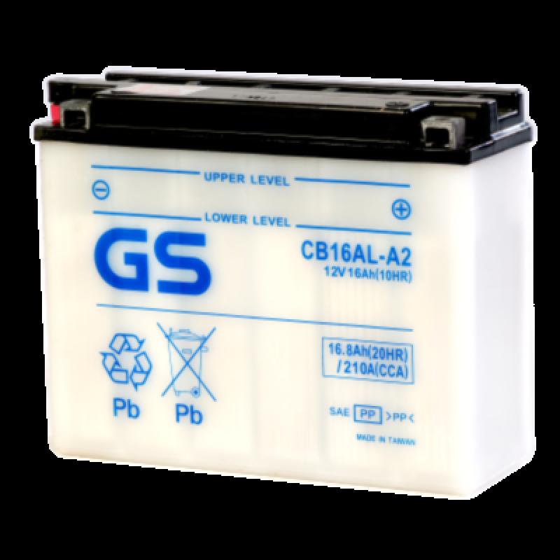 Аккумулятор GS YUASA GS CB16AL-A2 16Ач 12В 200А обратная полярность (0)